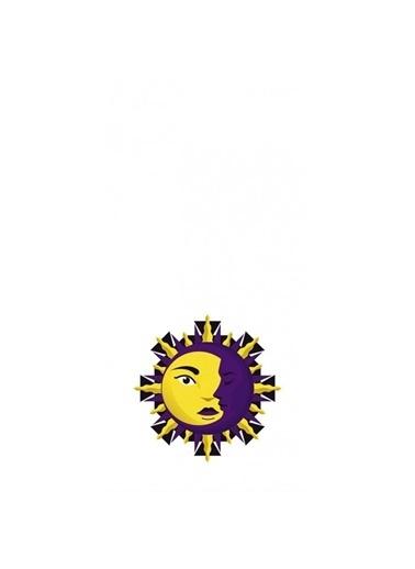 Artikel Güneş ve Ay Desenli -3 Dekoratif Çift Taraflı Yastık Kırlent Kılıfı 45x45 cm Renkli